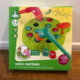 Like new ELC manic martians hammer moving toy