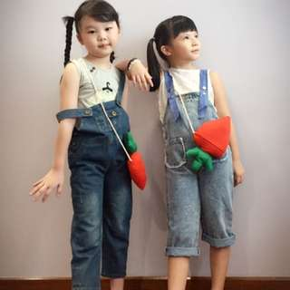 Denim Overall / Jean jumpsuit