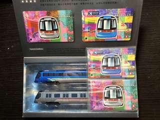 絕版 收藏 罕有 限量 地下鐵 港鐵 MTR 紀念版 超合金 車卡及車票