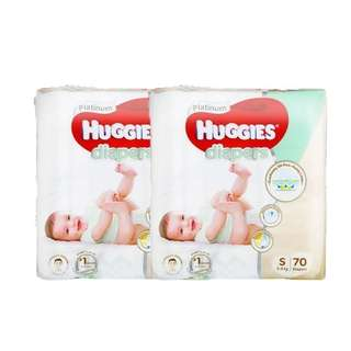 Huggies Platinum S Sized Twin Diapers