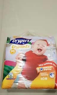 Drypers Drypantz M size