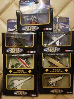 Corgi飛行100年  7 flights