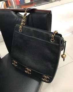 🈹💥🈹💥日本中古二手 chanel vintage bag 側揹袋