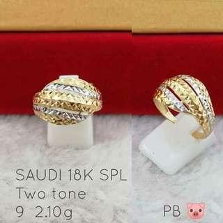 Saudi Gold-Two Tone SPL