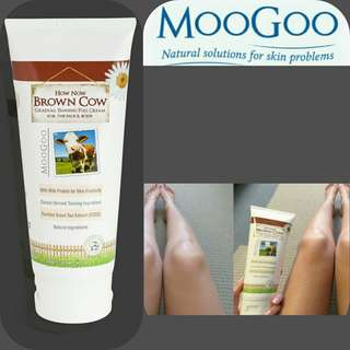 New MooGoo Tanning Gradual Cream