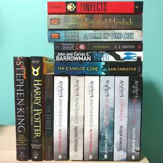 Young Adult Fiction Book Sale