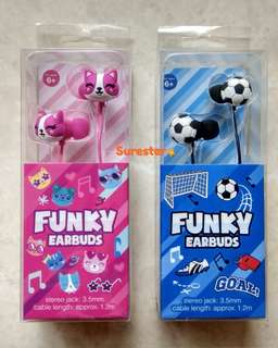 Smiggle Earbuds Funky
