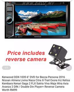 Kenwood 2 din player
