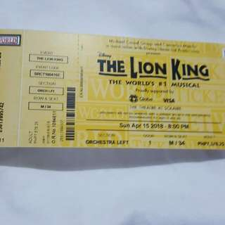 The Lion King Tickets Worlds No 1 Musical at Solaire