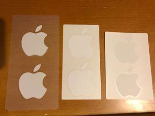 Apple brand sticker