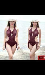 Php 370 Swimsuit  Free size  Can fit s to m