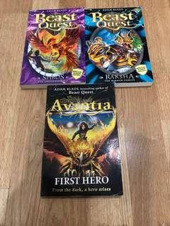 Beast Quest Books