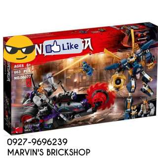 New Arrival NINJAGO Killow vs. Samurai X Building Blocks Toy