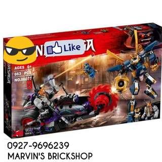New Arrival NINJAGO Killow vs. Samurai X Building Blocks Toy