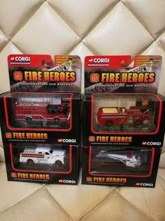 Corgi fire heros 救火英雄