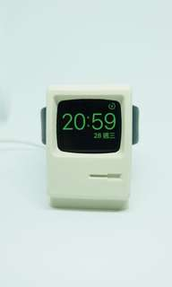 IMac充電底座 經典IMac 做型 Iwatch 1秒變身Macintosh