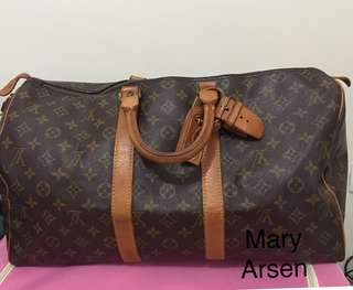 Authentic keepall