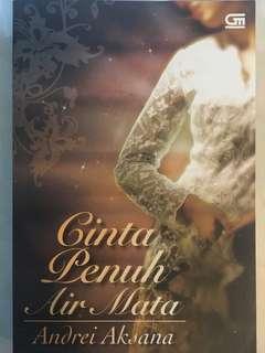 Novel: Cinta Penuh Air Mata - Andrei Aksana (bukan Sitta Karina)