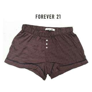 Forever 21 sexy shorts maroon xs to xxl sizes