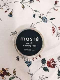 MASTÉ Washi masking tape MST-MKT72-A