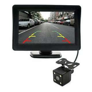 Full sets LCD with full HD 1080p reverse camera