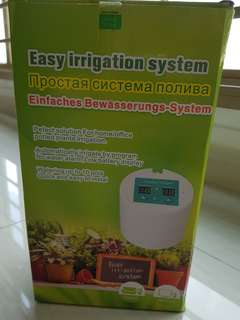 Auto watering system (battery operated)