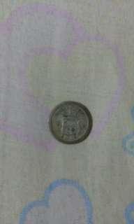 Nederl Indie 1/4 Gulden