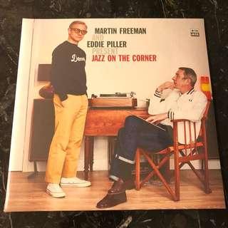 Sold. Martin Freeman & Eddie Piller present jazz on the corner. Vinyl Lp. New