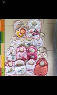 Baby bibs (14 pieces)