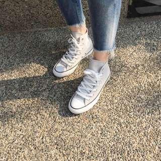全新 CONVERSE X 梨花 MAISON DE REEFUR 聯名高筒帆布鞋
