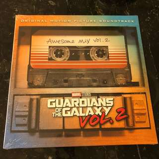 Sold. Guardians of the Galaxy vol 2 : awesome mix vol 2. Vinyl Lp. New