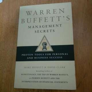 Warren Buffett's Management Secrets.