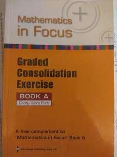 (24/8下架)Mathematics in focus exercise book a