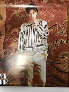 Super Junior 始源poster 8th repackage album