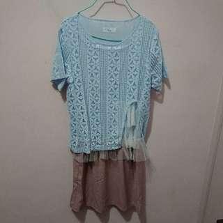 全新韓國連身裙(90元)