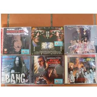 Original VCDs clearance - $0.50 Per Piece.