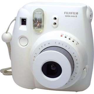 🚚 Fujifilm mini8拍立得 白 平輸 贈專用自拍鏡