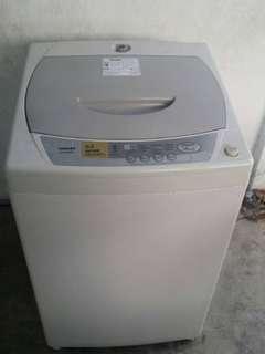 Mesin basuh washing machine Toshiba 6.0kg
