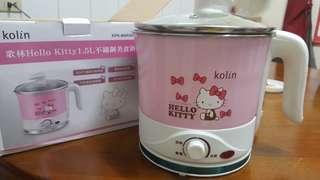 歌林Hello Kitty 1.5L不鏽鋼美食鍋_二手