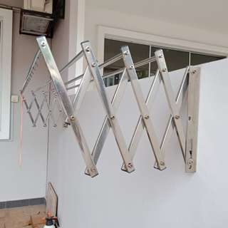 Clothes hanger outdoor