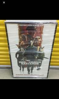 Framed Inglorious Basterds movie poster