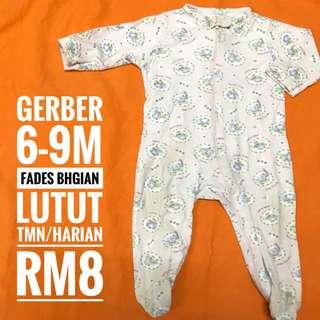 6-9m Baby Sleepsuit