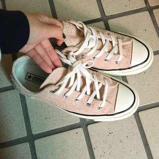 Converse 1970s麂皮粉色