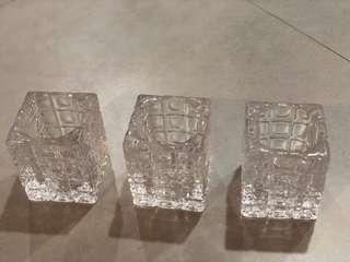Preloved Set of 3 Candle Holder