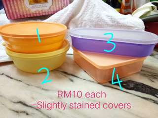 Clearance Sales Tupperware (Not used)