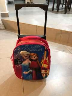 Preloved Frozen Toddler Back pack