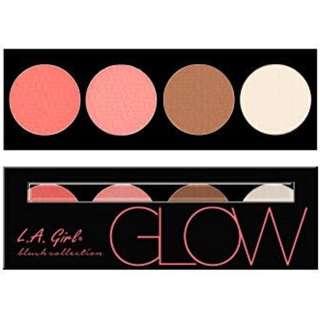 LA Girl Brick Blush in Glow