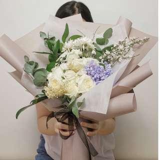 Flowers breeze