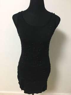 Stretchable mini dress