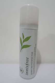 innisfree green tea facial mist